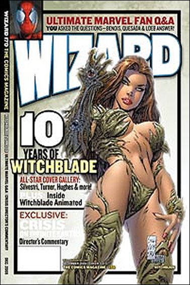 Wizard: The Comics Magazine 170-C by Wizard Press