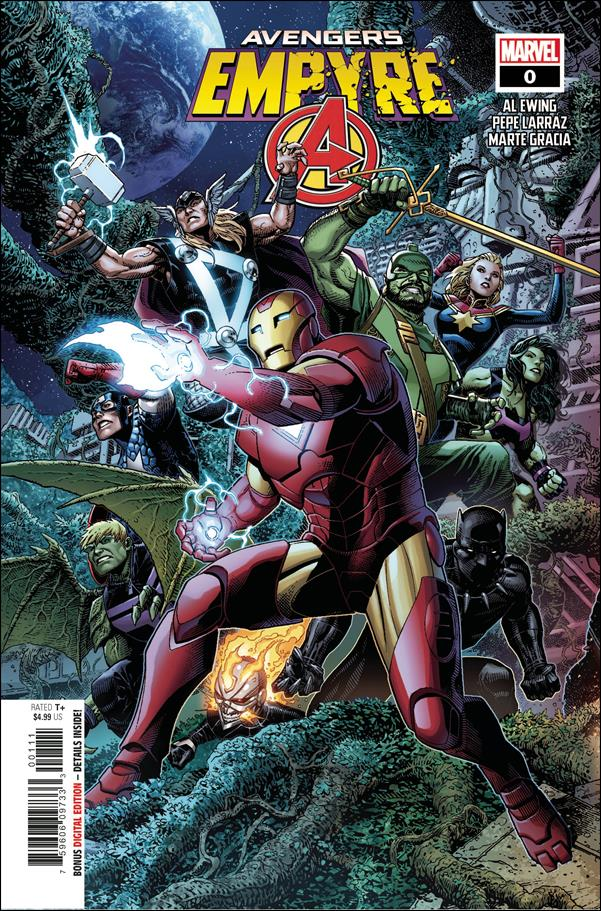 Empyre: Avengers 0-A by Marvel