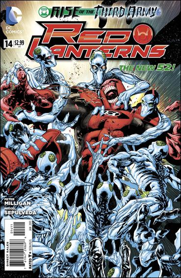 Red Lanterns 14-A by DC