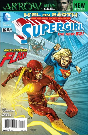 Supergirl (2011) 16-A by DC