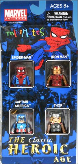 Marvel Minimates (Box Sets) Classic Heroic Age Box Set by Diamond Select