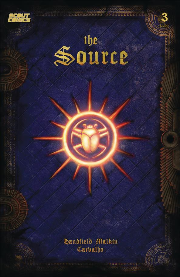 Source 3-A by Scout Comics