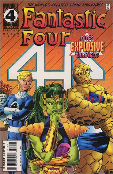 Fantastic Four (1961) 410-A by Marvel