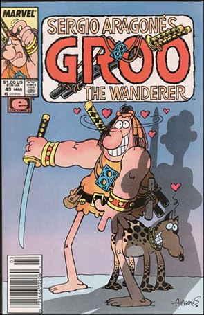 Sergio Aragones Groo the Wanderer 49-A