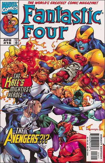 Fantastic Four (1998) 16-A by Marvel
