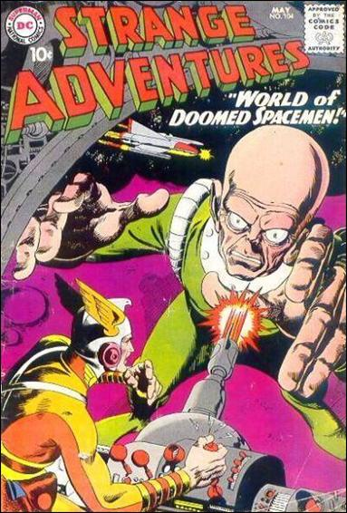Strange Adventures (1950) 104-A by DC