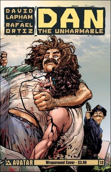 Dan the Unharmable 12-B by Avatar Press