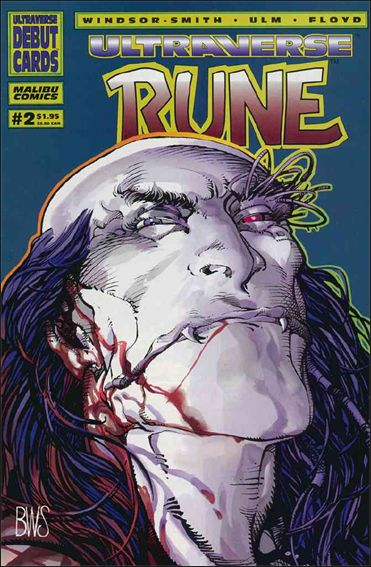 Rune (1994) 2-A by Malibu