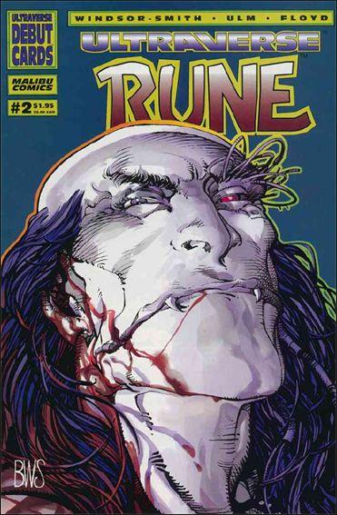 Rune (1994) 2-A by Malibu