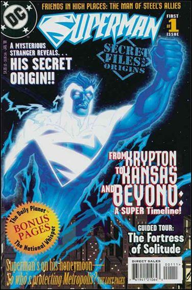 Superman: Secret Files 1-A by DC