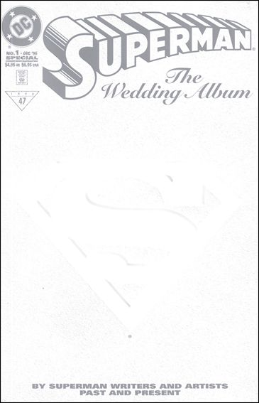 Superman: The Wedding Album 1-A by DC