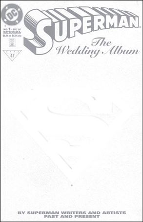 Superman: The Wedding Album 1-A