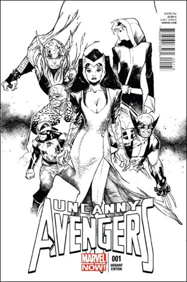 Uncanny Avengers 1-E by Marvel