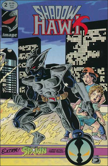 ShadowHawk (1992) 2-A by Image