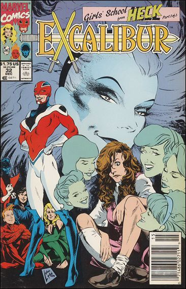 Excalibur (1988) 32-B by Marvel