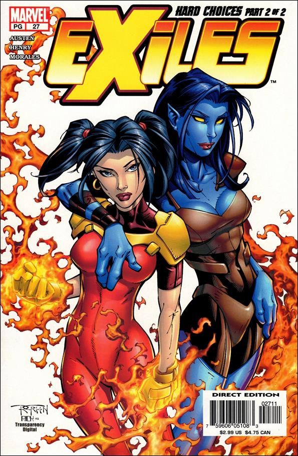 Exiles (2001) 27-A by Marvel