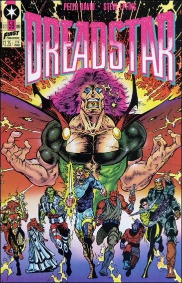 Dreadstar (1982) 59-A by Epic
