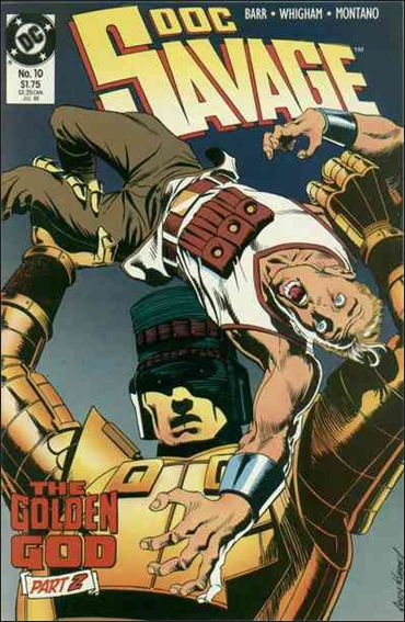 Doc Savage (1988) 10-A by DC