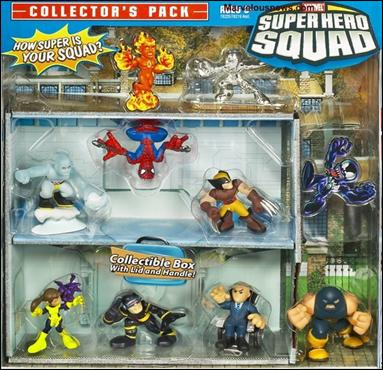 Marvel Super Hero Squad (Box Sets) Collector's Pack 2 8-Pack by Hasbro
