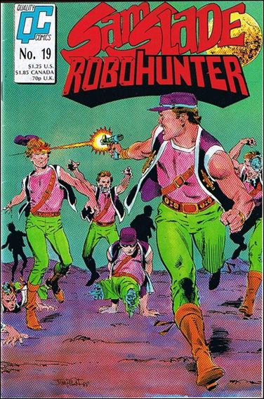 Sam Slade Robo Hunter 19-A by Quality Comics