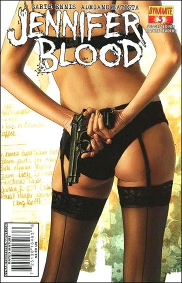 Jennifer Blood 3-A by Dynamite Entertainment