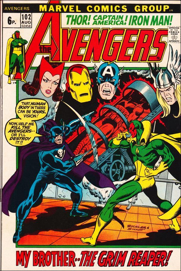 Avengers (1963) 102-B by Marvel