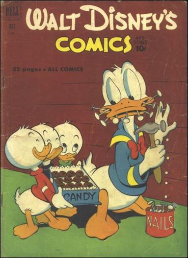 Walt Disney's Comics and Stories (1940) 133-A by Dell
