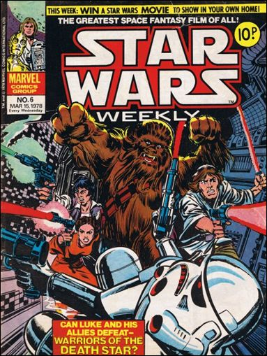 Star Wars Weekly (UK) 6-A by Marvel UK