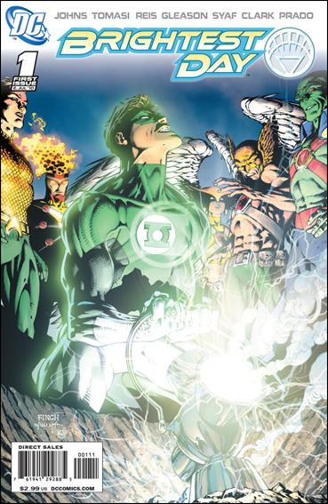 Brightest Day 1-A by DC