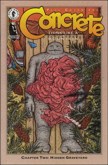 Concrete: Think Like a Mountain 2-A by Dark Horse