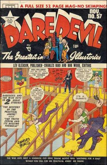 Daredevil (1941) 57-A by Lev Gleason Productions