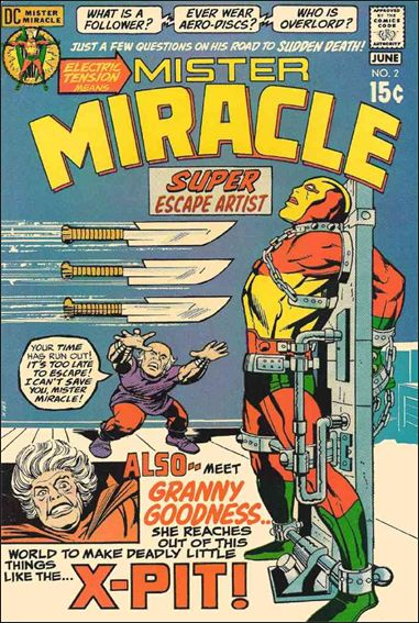 Mister Miracle (1971) 2-A by DC