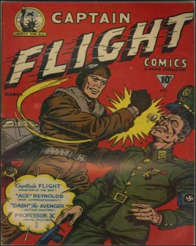 Captain Flight Comics nn-A by Four Star Publications