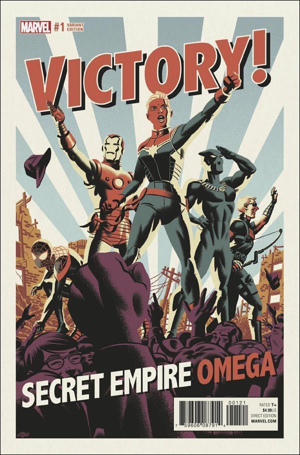 Secret Empire: Omega 1-B by Marvel