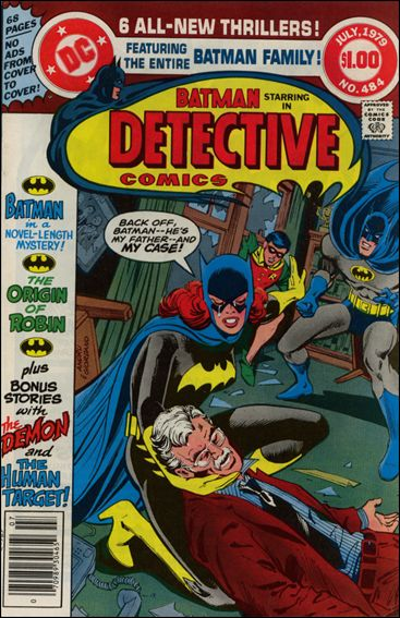 Detective Comics (1937) 484-A by DC