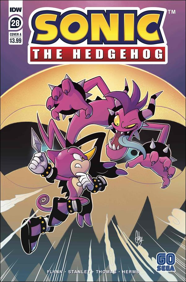 Sonic the Hedgehog (2018) 28-A by IDW