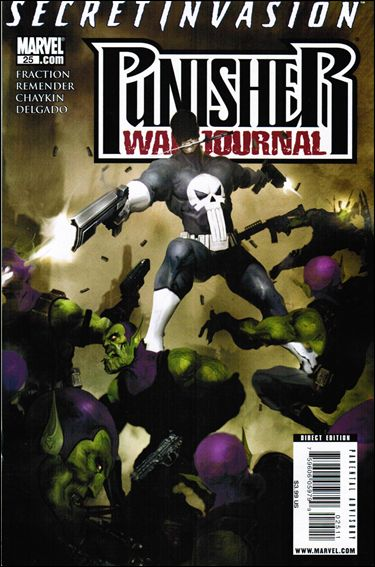 Punisher War Journal (2006) 25-A by Marvel