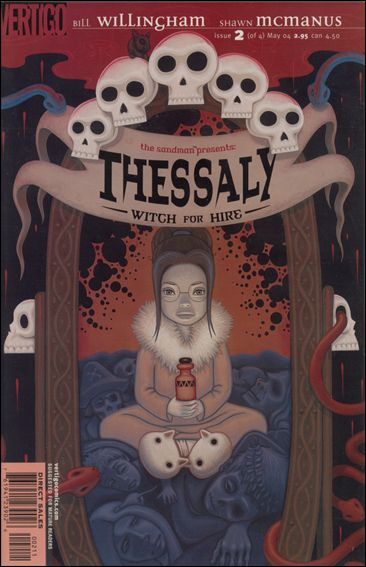 Sandman Presents: Thessaly: Witch for Hire 2-A by Vertigo