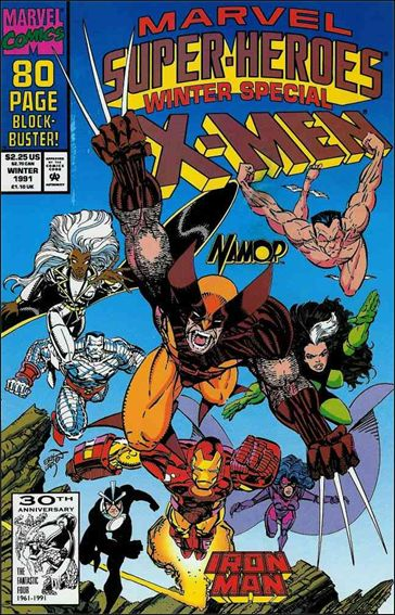 Marvel Super-Heroes (1990) Winter 1991-A by Marvel