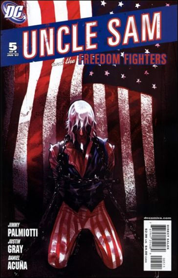 Uncle Sam and the Freedom Fighters (2006) 5-A by DC