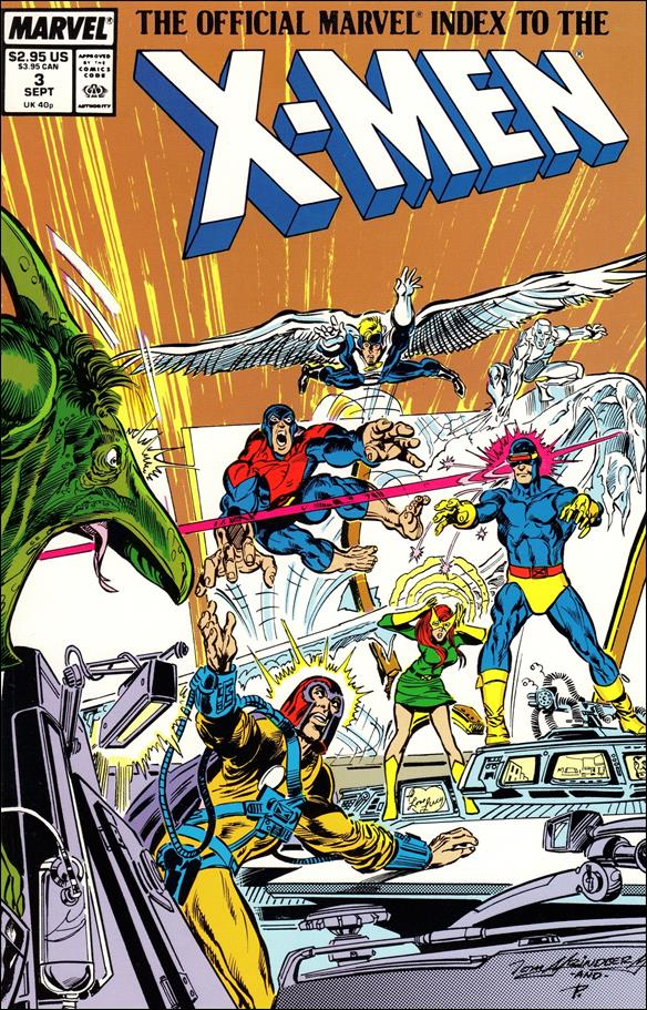 Official Marvel Index to the X-Men (1987) 3-A by Marvel