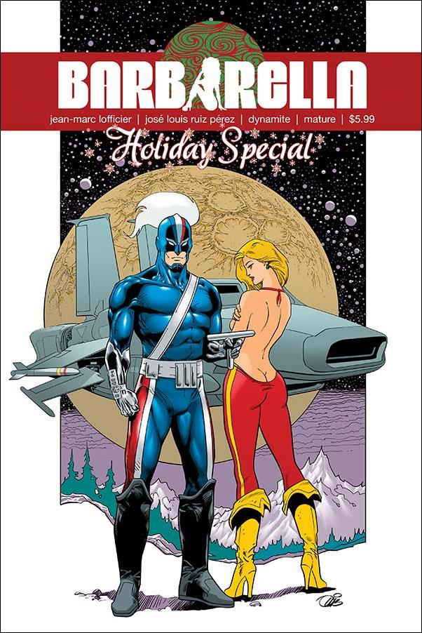 Barbarella Holiday Special 1-A by Dynamite Entertainment