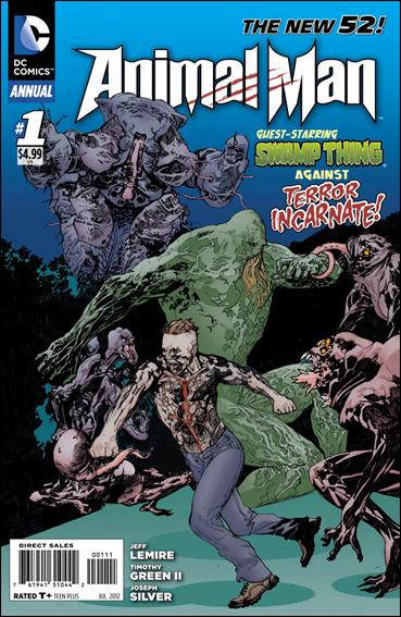 Animal Man Annual (2012) 1-A by DC