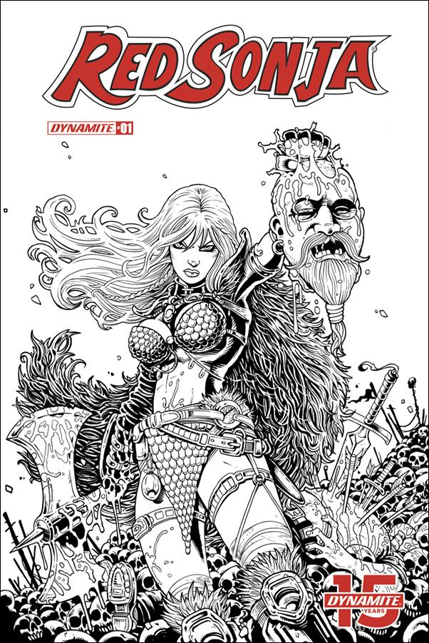 Red Sonja (2019) 1-J by Dynamite Entertainment