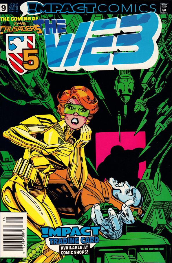 Web (1991) 9-A by Impact Comics