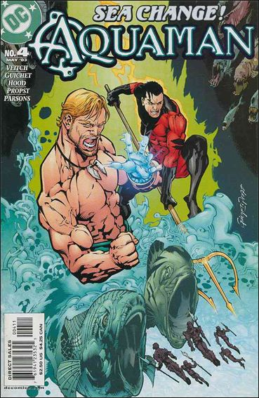 Aquaman (2003) 4-A by DC