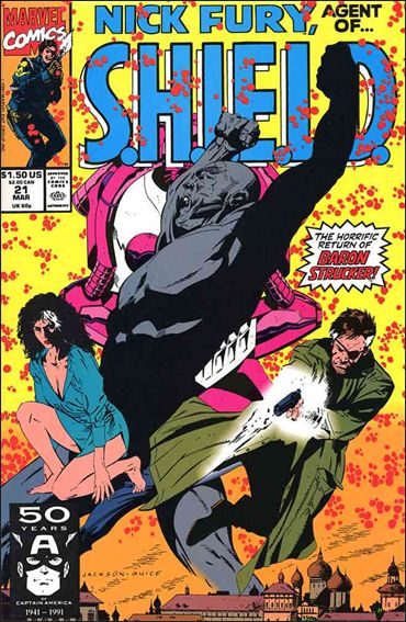 Nick Fury, Agent of S.H.I.E.L.D. (1989) 21-A by Marvel
