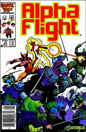 Alpha Flight (1983) 34-A