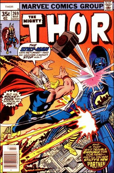 Thor (1966) 269-A by Marvel