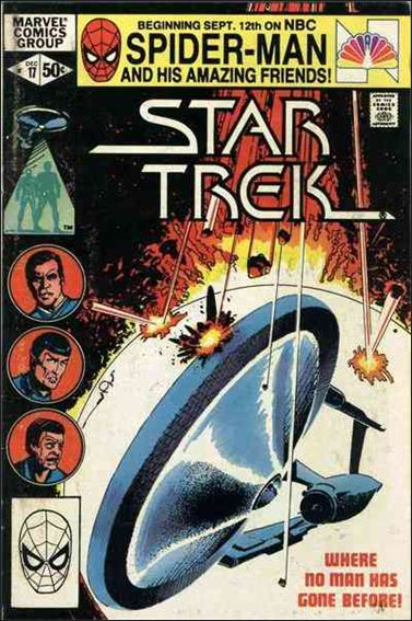 Star Trek (1980) 17-A by Marvel